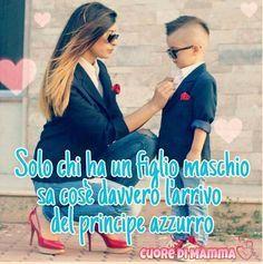(っ◔◡◔)っ ♥ Il mio principe! I Love My Son, Baby Love, Thing 1, Beautiful Mind, Mothers Love, Bob Marley, Wise Words, Best Quotes, Funny