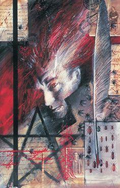Hellblazer #1 by Dave McKean