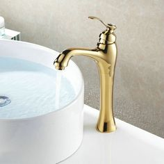 67.68$  Watch here - http://alizob.worldwells.pw/go.php?t=1112099302 - Free shipping godl basin tap Bathroom Mixer Single handle Single hole Surface Mounted faucet  GZ-7503K 67.68$