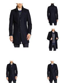 7613289242974 | #Strellson #Premium #Herren #Mantel #11 #Maikel #10001230, #Blau #(Navy #415), #Small #(Herstellergröße: #46)