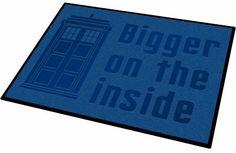 Doctor Who TARDIS Welcome Mat