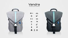 Vandra   The world's safest backpack with 15 smart features to protect and organize your belongings