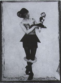 Hannah Höch * as one of her figurines c.1925 from Dadaism by Dietmar Elger & Uta Grosenick