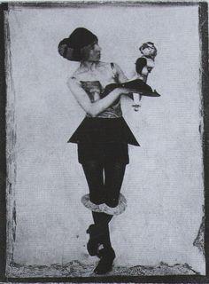 Hannah Höch * as one of her figurines c.1925 from Dadaism by Dietmar Elger & Uta Grosenick