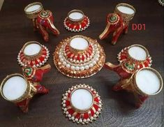 Tea Wedding Favors, Indian Wedding Favors, Rangoli Designs, Mehndi Designs, Diwali Decoration Items, Bollywood Theme, Tealight Candle Holders, Floral Wedding, Tea Lights