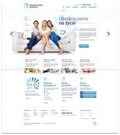 UbezpieczeniaOnline.pl on Behance