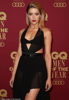 Amber Heard Photos - Amber Heard attends the GQ Men Of The Year Awards at The Star on November 2017 in Sydney, Australia. - GQ Men of the Year Awards - Red Carpet Amber Heard 2017, Amber Heard Photos, Cara Delevingne, Kate Moss, Scarlett Johansson, Beyonce, Amber Heart, Adrienne Bailon, Palais Des Festivals