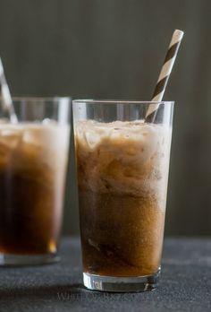 Drink a Polar Bear:  Creamy Vanilla Coke Recipe on @whiteonrice