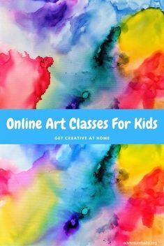 Online Art Classes for Kids Art For Kids Hub, Online Art Classes, Mo Willems, School Holidays, Kids Online, Simple Art, Art Studios, Art Tutorials, Teaching Kids