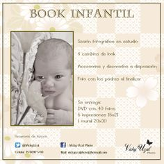 Book infantil de bebés y niños.