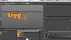 Cinema 4D Quick Tip: Using Effectors to Fade On Motext