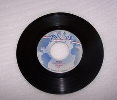 Carl Mann Pretend b/w Rockin' Love 45 RPM Record 1950s Rockabilly Phillips Label #EarlyCountryHonkyTonkRockabilly