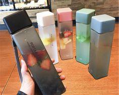 Cute Water Bottles, Plastic Bottles, Drink Bottles, Healthy Water Bottles, Fruit Water Bottle, School Water Bottles, Water Water, Glass Water Bottle, Recycled Bottles