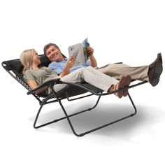 The Outdoor Reclining Loveseat - Hammacher Schlemmer