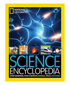 Look at this #zulilyfind! Science Encyclopedia Hardcover by National Geographic #zulilyfinds #livelikeits1993