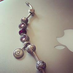 Pandora  #bijoux #bracelet #pandora