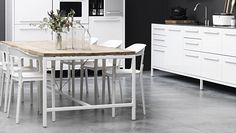 I want this table designed by Vipp - me too!