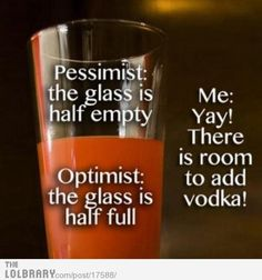 I don't drink vodka but if I did...I wrote that a while back. Good God I do love Vodka, and I drink it till there's room for more! Yippee!!!!
