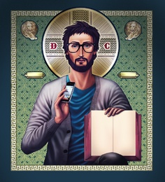 """Diggin the cardigan. Definitely what I'd expect a youth pastor Jesus to wear in my book """"An Interesting Youth Pastor"""" Teaching Religion, Jesus Photo, Guy, Religious Images, Youth Ministry, Christen, Free Iphone, Best Artist, Fractal Art"""