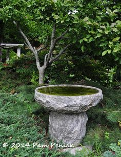 A fanciful journey through art-filled Bedrock Gardens, part 1 - Digging Japanese Garden Design, Garden Landscape Design, Garden Landscaping, Water Features In The Garden, Acre, Old Things, Journey, Gardens, Fancy