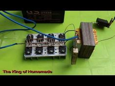 Homemade Inverter to Electronic Circuit Projects, Electronic Engineering, Diy Tech, Cool Tech, Electronics Basics, Electronics Projects, Simple Circuit, Speaker Box Design, Circuit Diagram