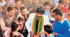 Intense #campaigning raises hopes for #BJP, #BabulSupriyo Fully active in #Jamshedpur