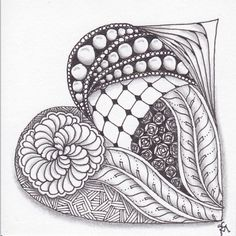 Zentangle 16 Feb 2014 | by Sarah__M