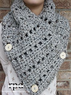 KATIE COWL NEW Crochet Pattern from Rescued Paw Designs - 40% OFF THROUGH MIDNIGHT 11-30-15! DISCOUNT APPLIED AT CHECKOUT!