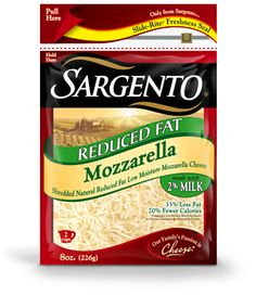Sargento Reduced Fat Mozzarella