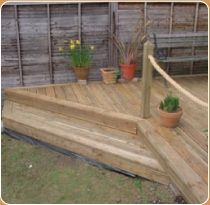 1000 images about garden rope fence on pinterest rope for Garden decking with rope