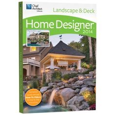 Home Designer Landscape and Decks 2014 Landscape Design Software, Landscaping Software, Landscape Designs, Backyard Plan, Backyard Retreat, Backyard Ideas, Beautiful Home Designs, Beautiful Homes, Home Designer Suite