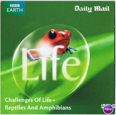 LIFE: Challenges + Reptiles and Amphibians ~ Charity/Promo DVD on #eBid United Kingdom £0.45