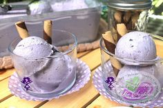 "A classic and popular Purple Yam Sorbetes also known as ""dirty ice cream"" here in the Philippines. Ube Sorbetes is super easy to prepare, delicious, creamy and super rich in flavor (with condensed milk and nestle cream, no ice-cream maker needed)"