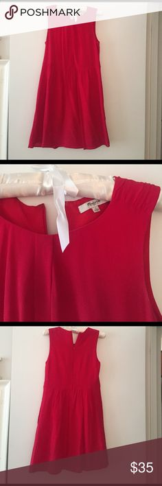 Red Madewell Dress Red Madewell Summer Dress. With Pockets! Madewell Dresses Midi