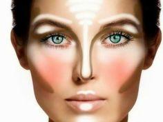 Come nascondere il naso grosso con il make up