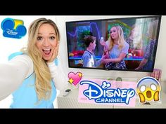 AHH I'm actually on Disney Channel! My childhood self is crying.I made a guest appearance on the show Bizaardvark and no guys I'm not replacing Jake Paul. Alisha Marie, Disney Channel, You Tude, Jake Paul, My Childhood, Youtubers, American Girl, Behind The Scenes, All About Time
