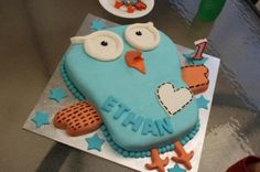 The Giggle and Hoot cake my wife made for our son's 1st Birthday  http://aussiegeekdad.com/home/2012/7/23/giggle-and-hoot-cake.html