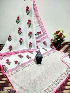 Mumul cotton Saree:Starting ₹810/- free COD whatsapp+919199626046 Lace Saree, Chanderi Silk Saree, White Saree, Chiffon Saree, Cotton Saree Designs, Block Print Saree, Online Shopping Sarees, Modern Saree, Fabric Stamping