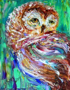Karen Tartlon Owl