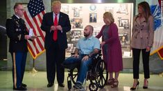 He tried using a hero as a political prop and it backfired 'bigly.' | Trump Just Crashed A Purple Heart Ceremony And Embarrassed Himself