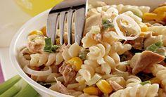 Rýchly tuniakový šalát Pasta Salad, Food And Drink, Ethnic Recipes, Crab Pasta Salad