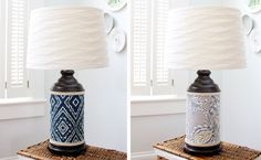 Cover Lamps With Fabric