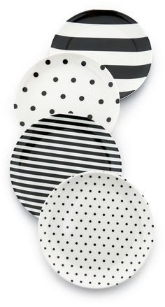 Kate Spade New York Raise a Glass Melamine Coaster Set