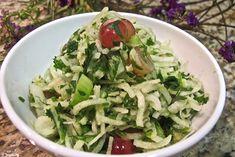 Grape Jicama Salad | Young and Raw