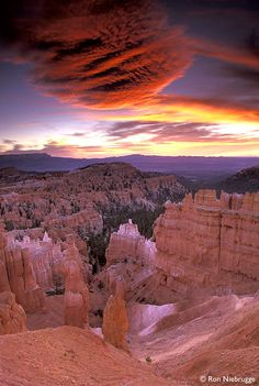 ✮ Sunrise at Sunset Point, Bryce National Park,  Utah