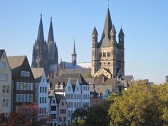 Kölner Dom, Basilika Groß St. Martin, Altstadt/ Fischmarkt | Köln, Cologne