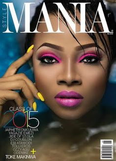 Welcome To Chitoo's Diary.: Toke Makinwa covers new issue of Mania magazine