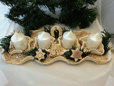 Clay Projects, Clay Crafts, Diy And Crafts, Ceramic Design, Ceramic Art, Ceramic Christmas Decorations, Advent Candles, Christmas Clay, Advent Calenders