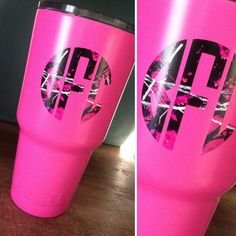 Personalized Camo Yeti Decal made with Muddy Girl