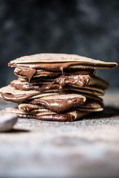 Cinnamon Sugar Nutella Quesadilla